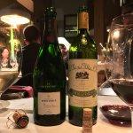 Champagner und Rioja im El Cercle Restaurant Barceliona La Rioja Alta und Champagner Henri Girauf