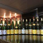 Weinprobe Riesling Pinot Gris Gewürztraminer Pinot Noir Muscat Famille Hugel