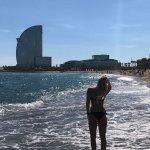 W Barcelona Ausblick vom Barceloneta