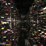 Der Weinkeller der Weinbar Monvinic