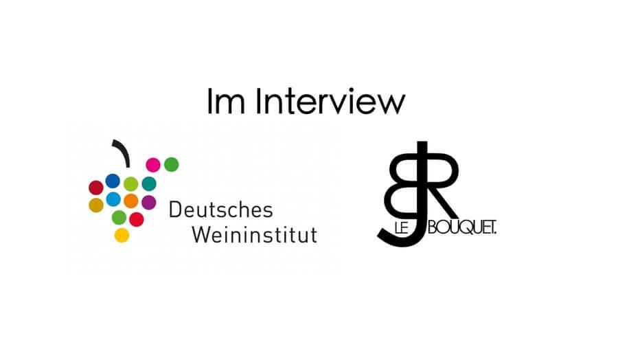 Das Deutsches Weininstitut DWI interviewt Weinblogger Björn Bittner aka BJR Le Bouquet