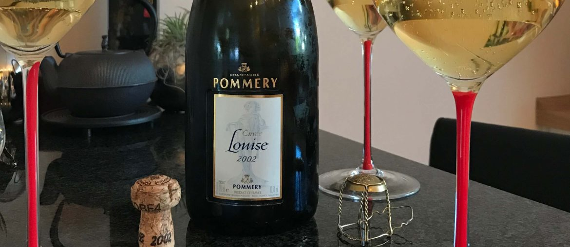 Pommery Louise Champagner 2002 Prestige Cuvee mit Riedel Fatto a Mano Sommelier Glas BJR Le Bouquet Björn Bittner Maximilian Riedel