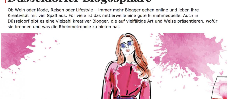 TOP Magazin Düsseldorf Rheinische Post Verlag Björn Bittner BJR Le Bouquet Blogger Blog Blogosphäre Lifestyle Jennifer Kosche Antonia Kasparek