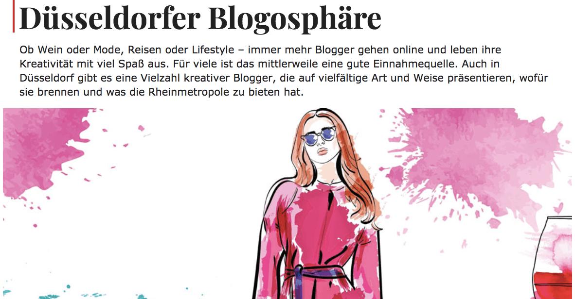 dusseldorfer blogosphare im top magazin traumjob wein blogger