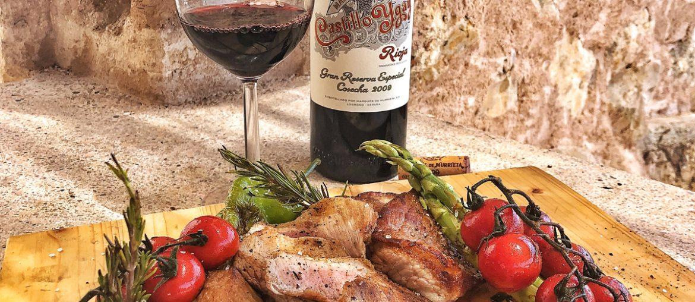Beef and Wine Bjr Le Bouquet Albersfood bbq Iberico Cerda marques de murrieta castillo ygay gran reserva especial 2009 vintage rioja rotwein