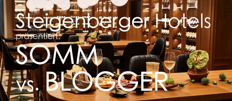 Somm vs Blogger im Steigenberger Hotel Petersberg Königswinter Weinbar Weinrestaurant Event Wein Blog Sommelier Moderation Bundesregierung Bill Clinton