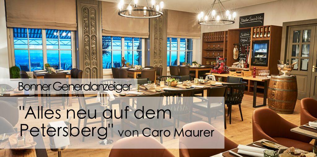 Bonner Generalanzeiger Bonn Tageszeitung Köln Steigenberger Grandhotel Petersberg Caro Maurer Master of Wine Björn Bittner Blogger