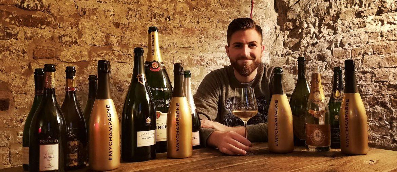 MYCHAMPAGNE Gewinnspiel Comité Champagne Royal CIVC Verband Influencer Blogger Dom Perignon Charles Heidsieck Bollinger Piper Louis Roederer Krug Björn Bittner