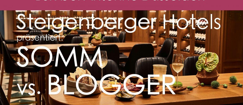 Somm vs Blogger Radiointerview Radio Interview Steigenberger Grandhotel Petersberg Antenne Düsseldorf Björn Bittner Tanja Marschal Michael Kain