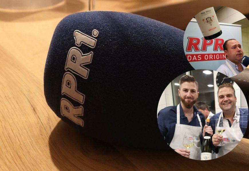 """RPR1 """"Hör mal Wein"""" mit Kunze – Nik Weis x Björn BJR Bittner"""