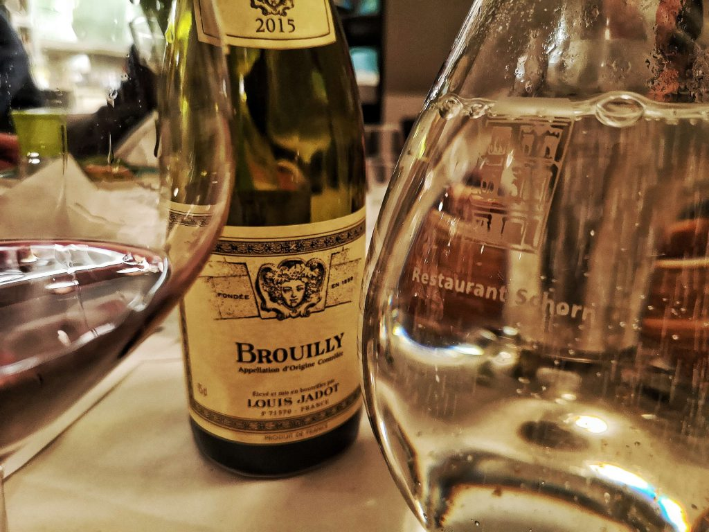 Gamay Beaujolais Schorn Düsseldorf Tasting Weinverkostung Weinprobe Louis Jadot Cru Brouilly Morgon Fleurie Moulin a Vent