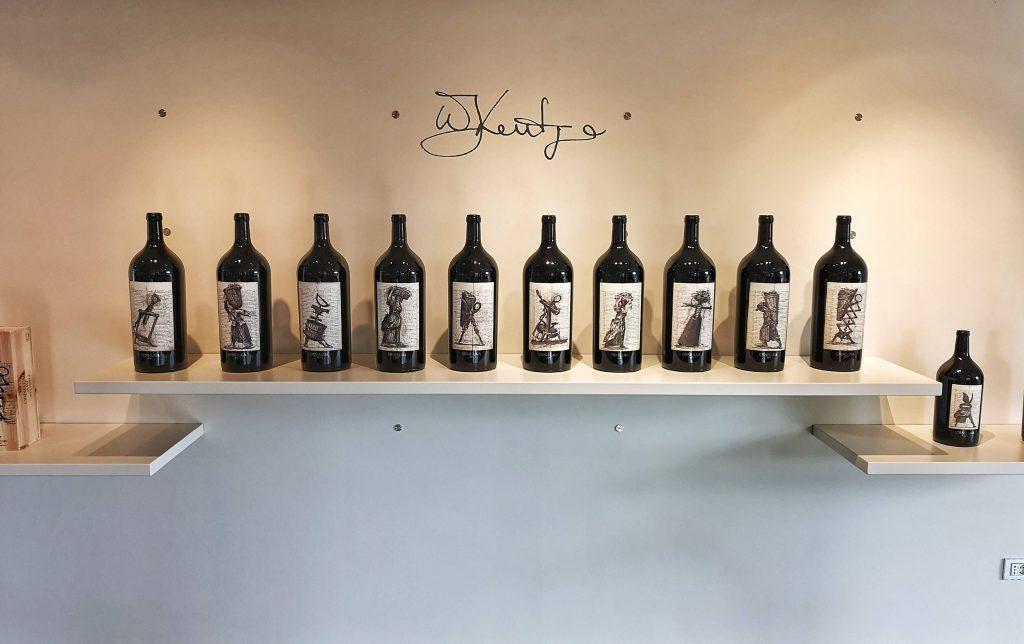 Ornellaia Weingut Winery Bolgheri Castagneto Carducci Toskana Tuscany Björn Bittner Weinflaschen Big Bottle