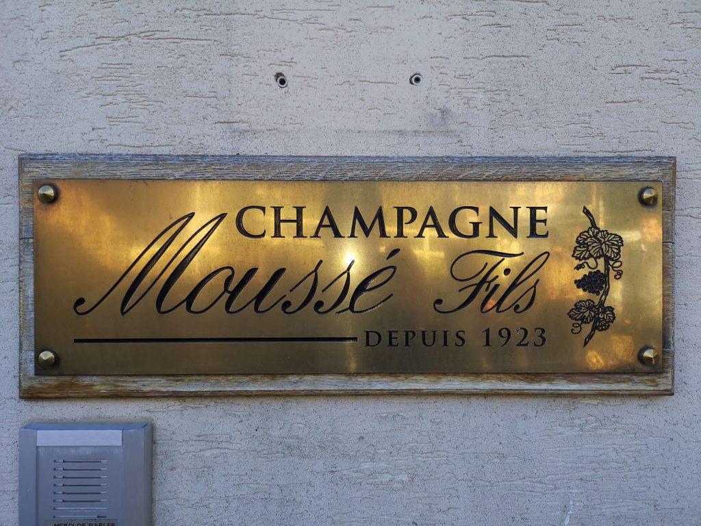 Moussé Fils Cuisles Champagne Cedric Meunier Pinot