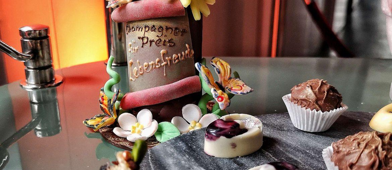 Champagner Preis Lebensfreude 2019 Louis C Jakob Hamburg Comite Champagne Praline Patissier Patisserie Pastry