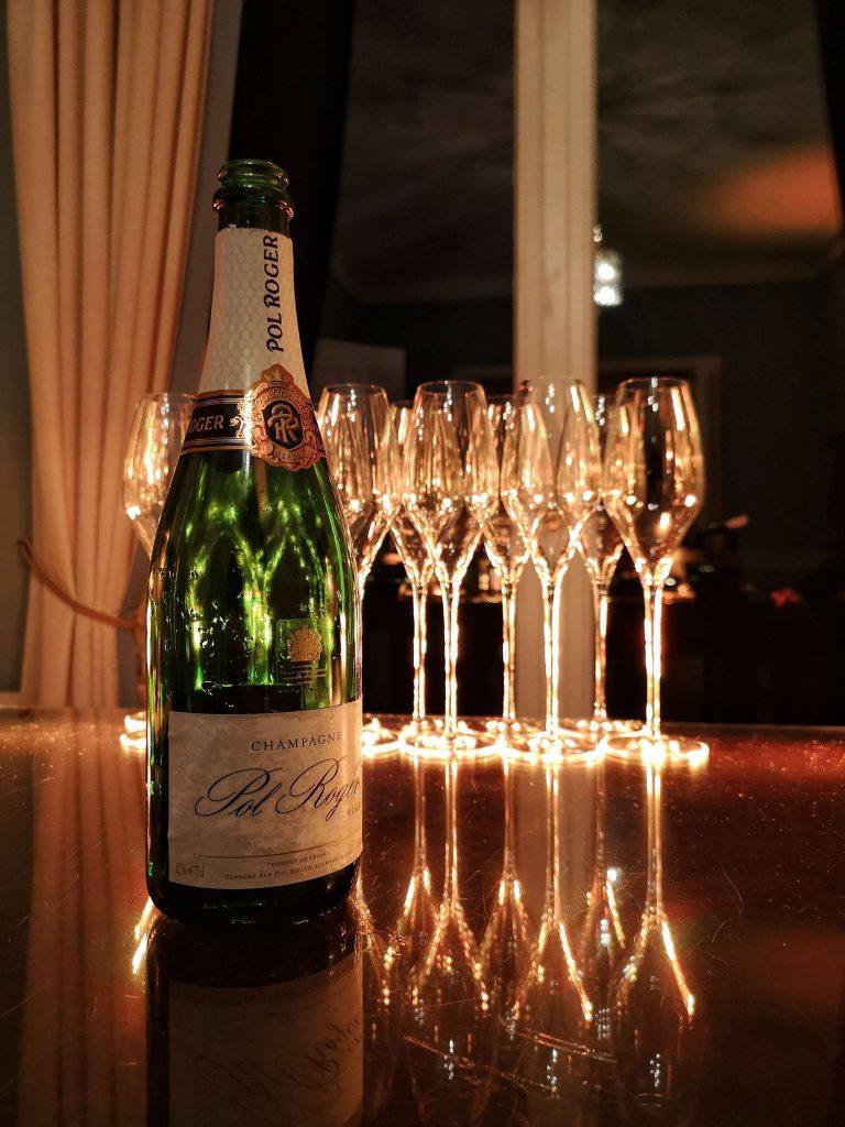 Champagner Preis Lebensfreude 2019 Louis C Jakob Hamburg Comite Champagne Pol Roger Brut Reserve