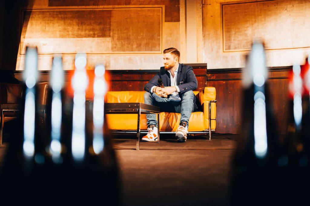 ProWein Degustationsmenü 2019 BJR Le Bouquet Mr Düsseldorf Stockheim Catering Rheinterrasse Rheingoldsaal Björn Bittner RPR1 Andreas Kunze Weinprobe FINE Moderator Hawesko La Rioja Alta Prinz Salm Real.de Freiherr von Gleichenstein