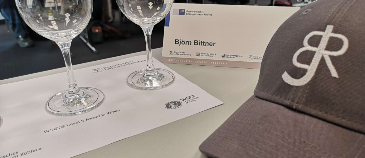 WSET Level 3 Koblenz London Wine Spirits Education Trust BJR Le Bouquet Björn Bittner