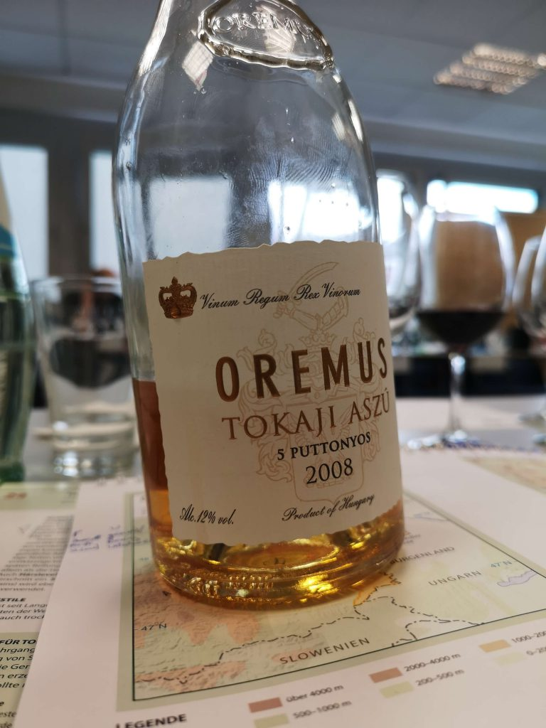 WSET Level 3 Koblenz London Wine Spirits Education Trust Tokaji Ungarn