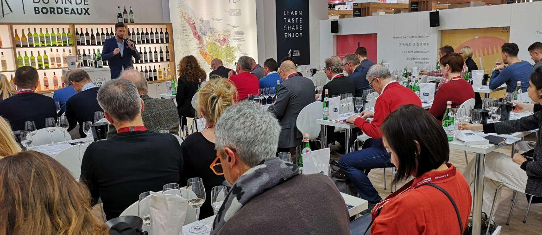 Lecole du Vin Bordeaux ProWein 2019 Wein Wine Fair Messe Björn Bittner BJR Le Bouquet Masterclass Seminar Workshop
