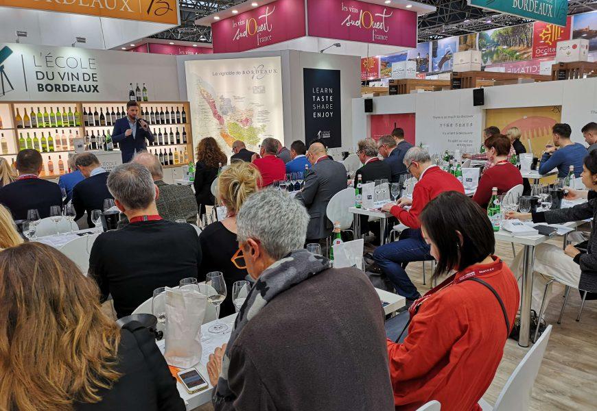 Moderation: L'ecole du Vin de Bordeaux Masterclass auf der ProWein 2019