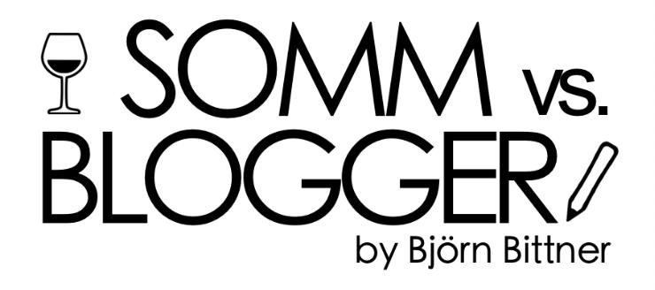 SOMM vs BLOGGER by Björn Bittner Logo Event Wein Veranstaltung Moderation
