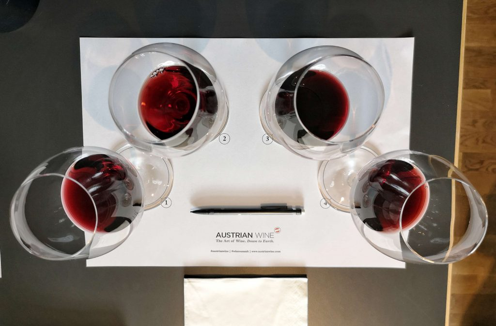 Austrian Wine Summit 2019 Weingipfel Österreich Weninger Verkostung David Schildknecht Blaufränkisch