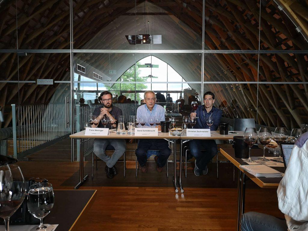 Austrian Wine Summit 2019 Weingipfel Österreich Klaus Weninger David Schildknecht Verkostung Burgenland Blaufränkisch
