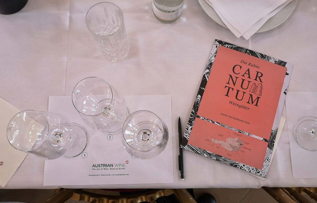 Austrian Wine Summit 2019 Weingipfel Österreich Carnuntum Schloßhof Zweigelt Verkostung