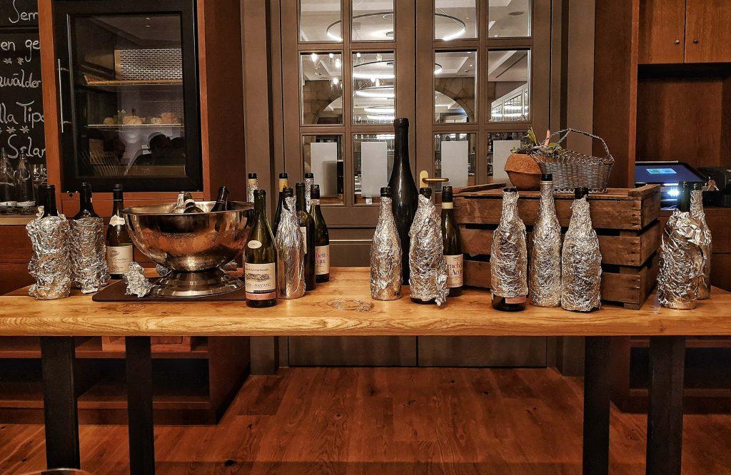 Steigenberger Grandhotel Petersberg Somm vs Blogger BBQ Wein Verkostung Blindverkostung Tasting Blind