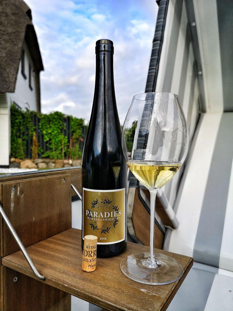 Weingut Korrell Nahe Magnum Martin Björn Bittner Sylt Paradies Riesling Riedel Glas Weinglas 2014 Jahrgang