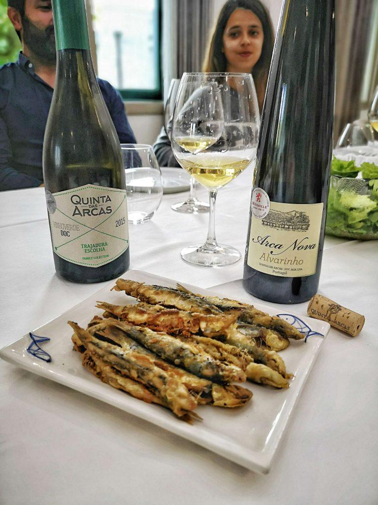 Vinho Verde Great European Wines Porto Quinta das Arcas Arca Nova Alvarinho Fish Fisch
