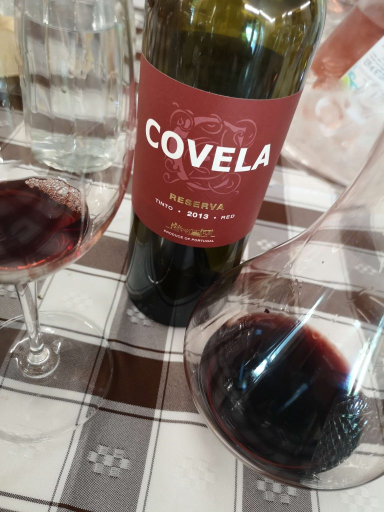 Vinho Verde Great European Wines Porto Covela Quinta Reserva Tinto 2013 Karaffe Dekanter