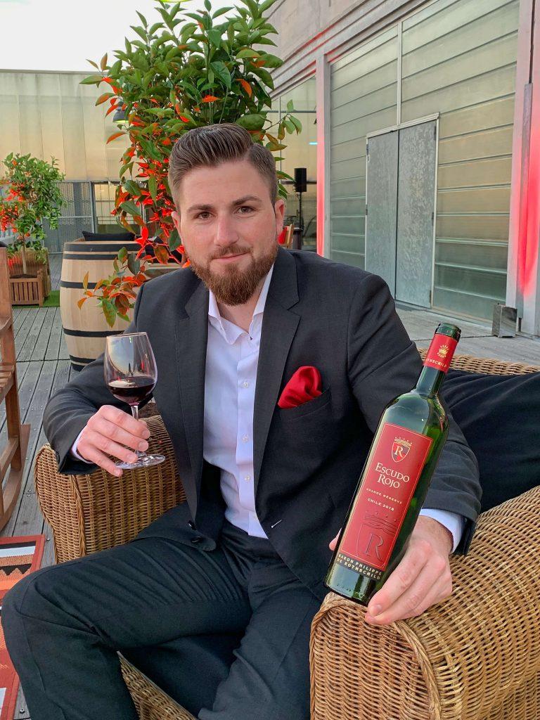 Escudo Rojo Chile Bordeaux Baron Philippe de Rotschild BJR Le Bouquet Björn Bittner VINEXPO Gran Reserva