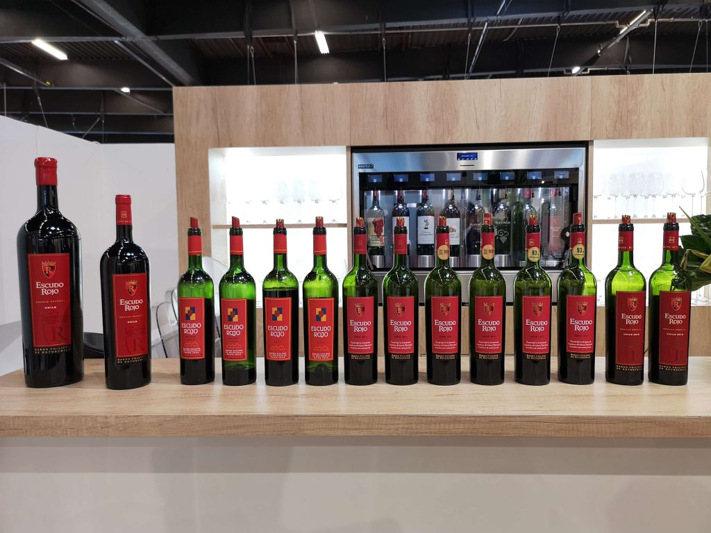 Escudo Rojo Chile Bordeaux Baron Philippe de Rotschild Vinexpo Vertikal Vertical Tasting Verkostung Gran Reserva