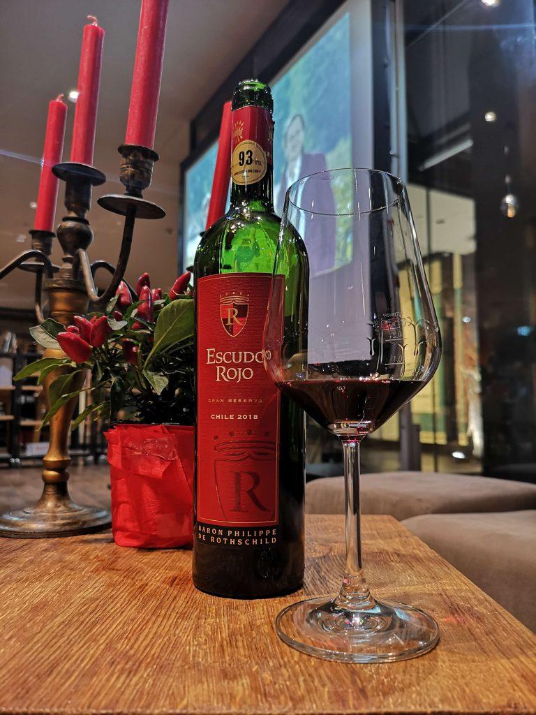 Escudo Rojo Chile Bordeaux Baron Philippe de Rotschild Winebank Gran Reserva 2018 Hamburg Winebank