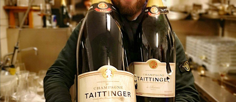 Taittinger BJR Le Bouquet Björn Bittner Champagne Fischerei Bistro Bad Wiessee Tegernsee Von Preysing Nebukadnezar