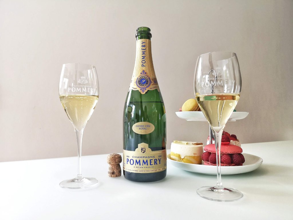 Pommery Champagne Champagner Grand Cru Royal Vintage 2006 Louise Reims Björn Bittner Petit Four