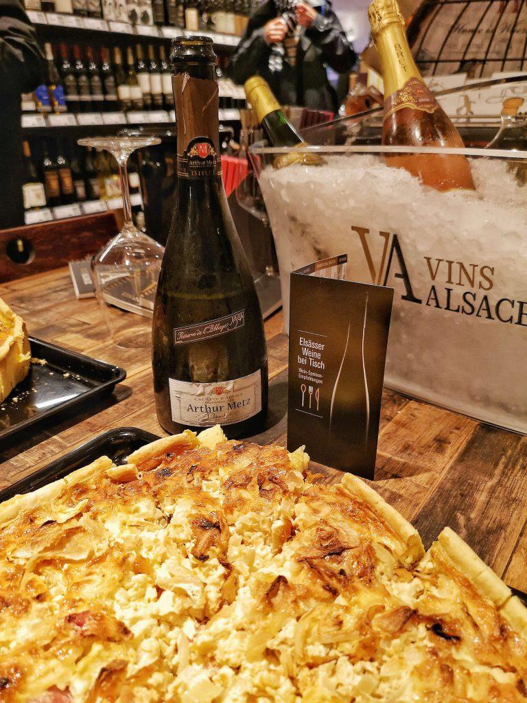 Elsass Roadshow Frankfurt Köln Quiche Vins Alsace Arthur Metz Cremant d'Alsace