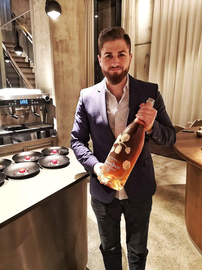 Perrier-Jouet The Table Kevin Fehling Champagner Björn Bittner BJR Le Bouquet Jeroboam 3L Belle Epoque Rosé