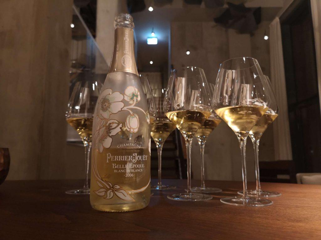 Perrier-Jouet The Table Kevin Fehling Champagner Belle Epoque Blanc de Blancs Vintage 2006 Chardonnay