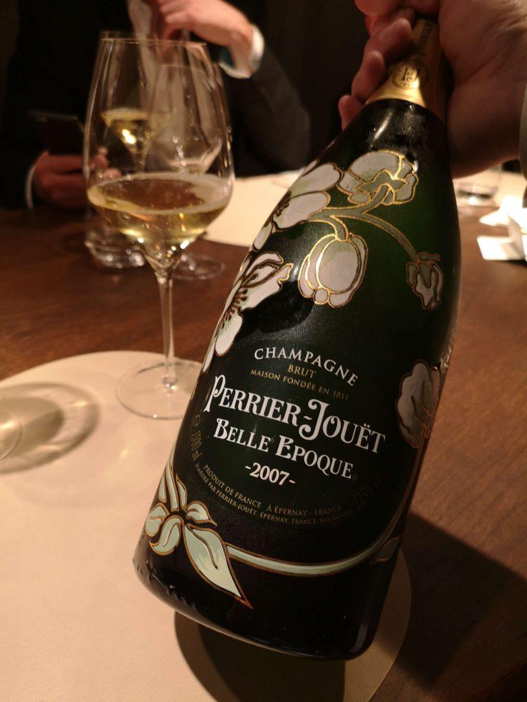Perrier-Jouet The Table Kevin Fehling Champagner Belle Epoque Blancs 2007 Vintage Brut