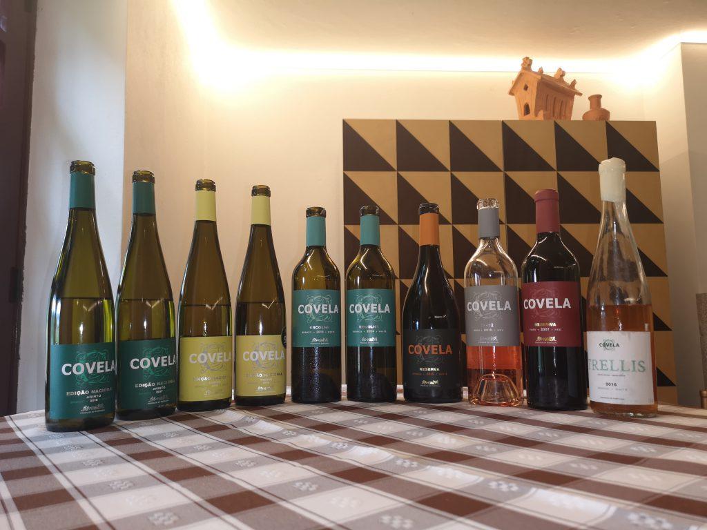 Portugal Vinho Verde Reise Reisebericht Quinta Covela Tasting Weinprobe Avesso Alvarinho Arinto