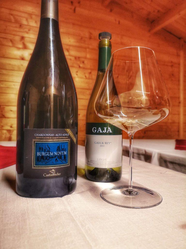 Castelfeder Chardonnay Burgum Novum Chardonnay Gaja Rey Südtirol Piemont Zalto