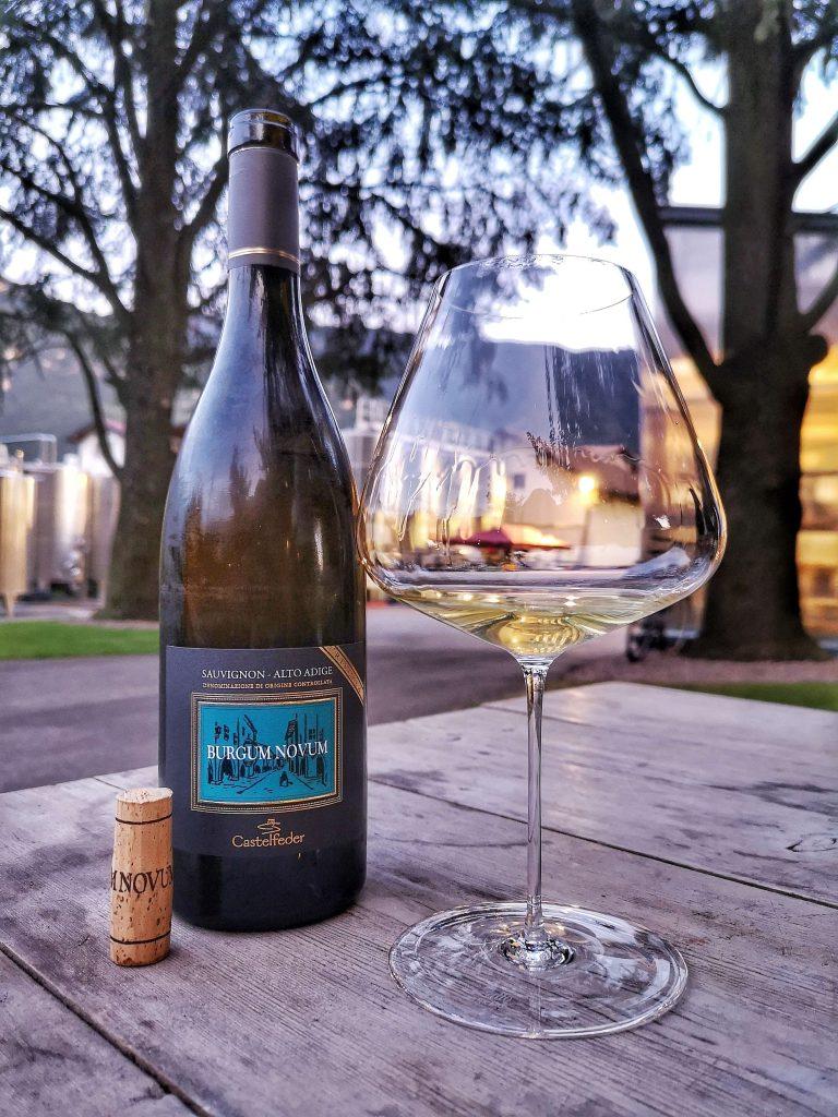 Castelfeder Burgum Novum Südtirol Weingut Zalto Burgund Sauvignon Blanc Riserva