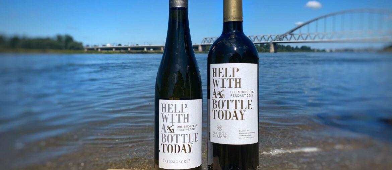 Help With A Wine.Today Dreissigacker Gaillard Maison Valais Riesling Rhein Charity JRE Schwyz Schuler Gruppe