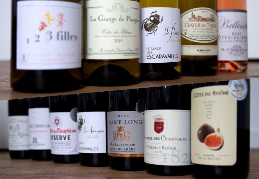 Côtes du Rhône – Die Appellation Côtes du Rhône und ihre Weine