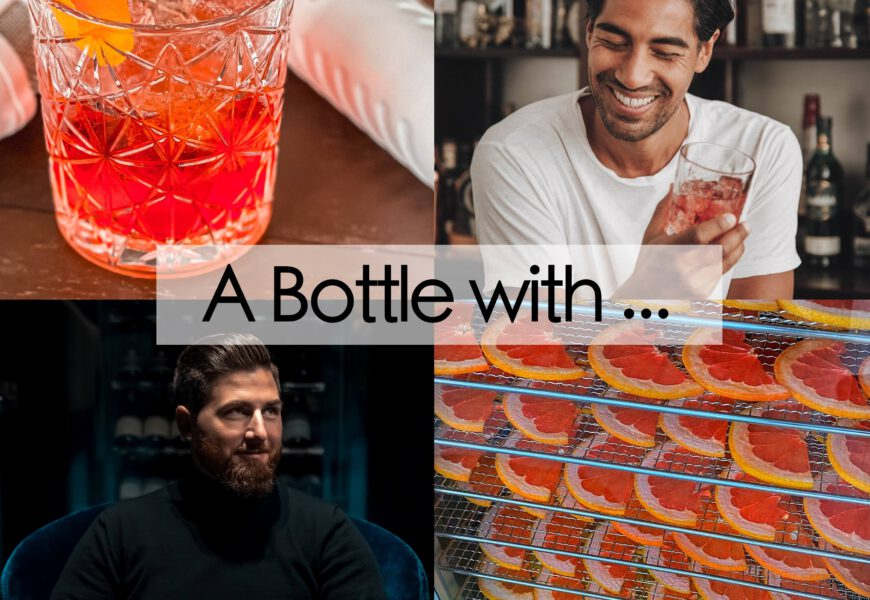 A Bottle with … #9 mit Cocktail-Goat Nic Shanker