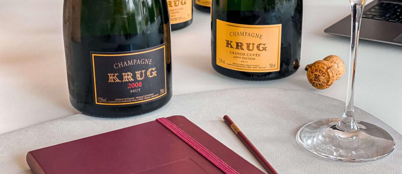 Krug Vintage Grande Cuvée Olivier Krug Encounters Julie Cavil Björn Bittner A Bottle with Podcast 2008 169eme Edition Riedel