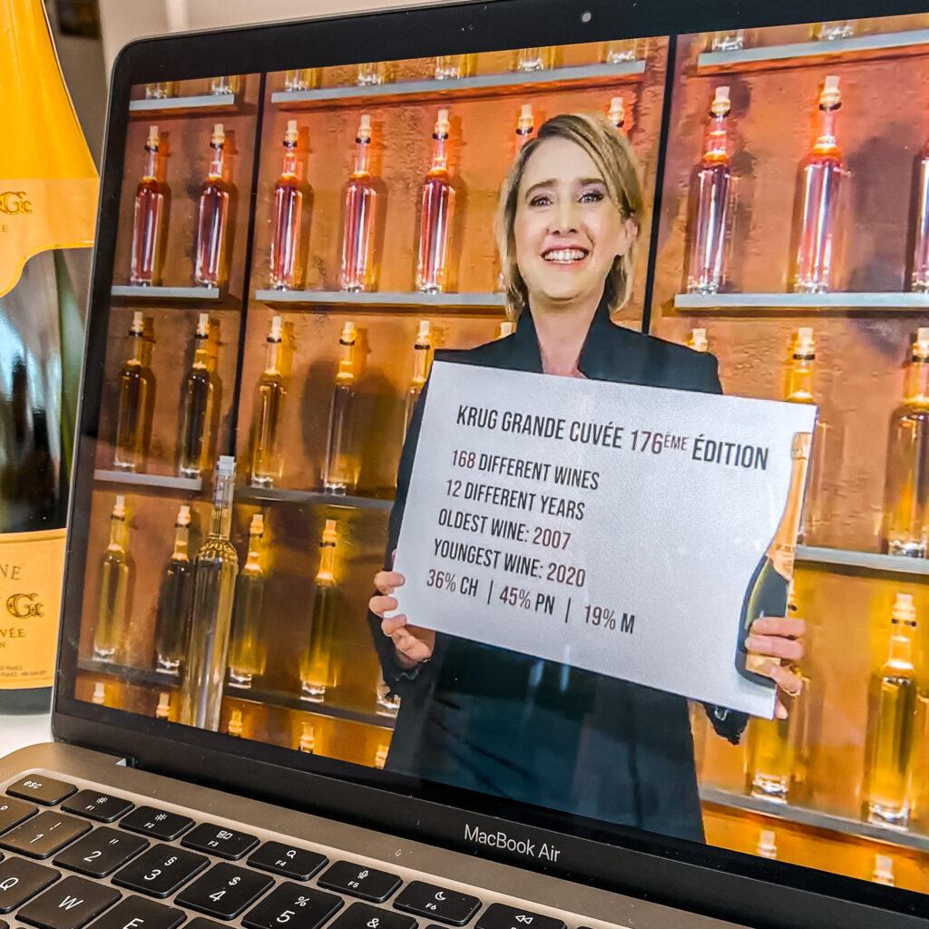 Krug Julie Cavil 176 176eme Edition Grande Cuvee Champagner