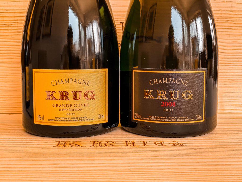 Krug 2008 Vintage Millesimes Grande Cuvee 164 164eme